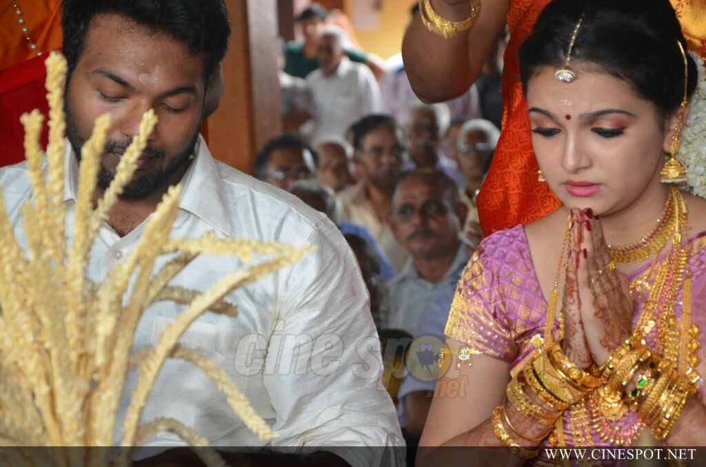 Saranya Mohan marriage photos (12)