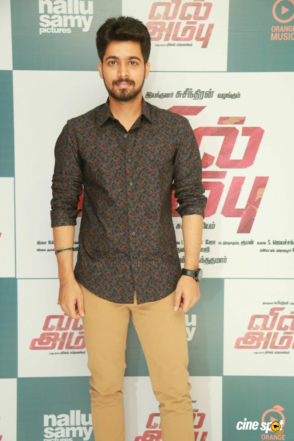 Harish Kalyan at Vil Ambu Audio Launch (10)