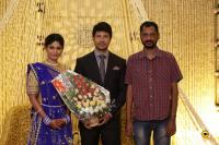 Actress Vijayalakshmi wedding reception pics (11)