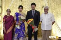 Actress Vijayalakshmi wedding reception pics (12)