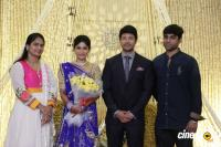 Actress Vijayalakshmi wedding reception pics (13)
