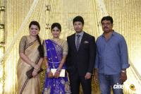 Actress Vijayalakshmi wedding reception pics (15)