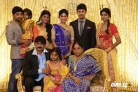 Actress Vijayalakshmi wedding reception pics (19)