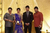Actress Vijayalakshmi wedding reception pics (2)