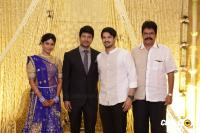 Actress Vijayalakshmi wedding reception pics (21)