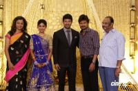 Actress Vijayalakshmi wedding reception pics (3)