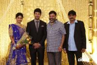 Actress Vijayalakshmi wedding reception pics (4)