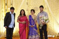 Actress Vijayalakshmi wedding reception pics (5)