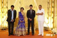 Actress Vijayalakshmi wedding reception pics (6)