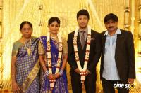 Actress Vijayalakshmi wedding reception pics (7)