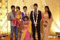 Actress Vijayalakshmi wedding reception pics (8)