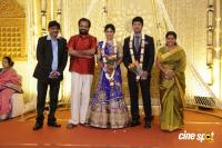Actress Vijayalakshmi wedding reception pics (9)