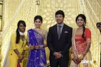 Actress Vijayalakshmi -Feroz Wedding Reception  (32)