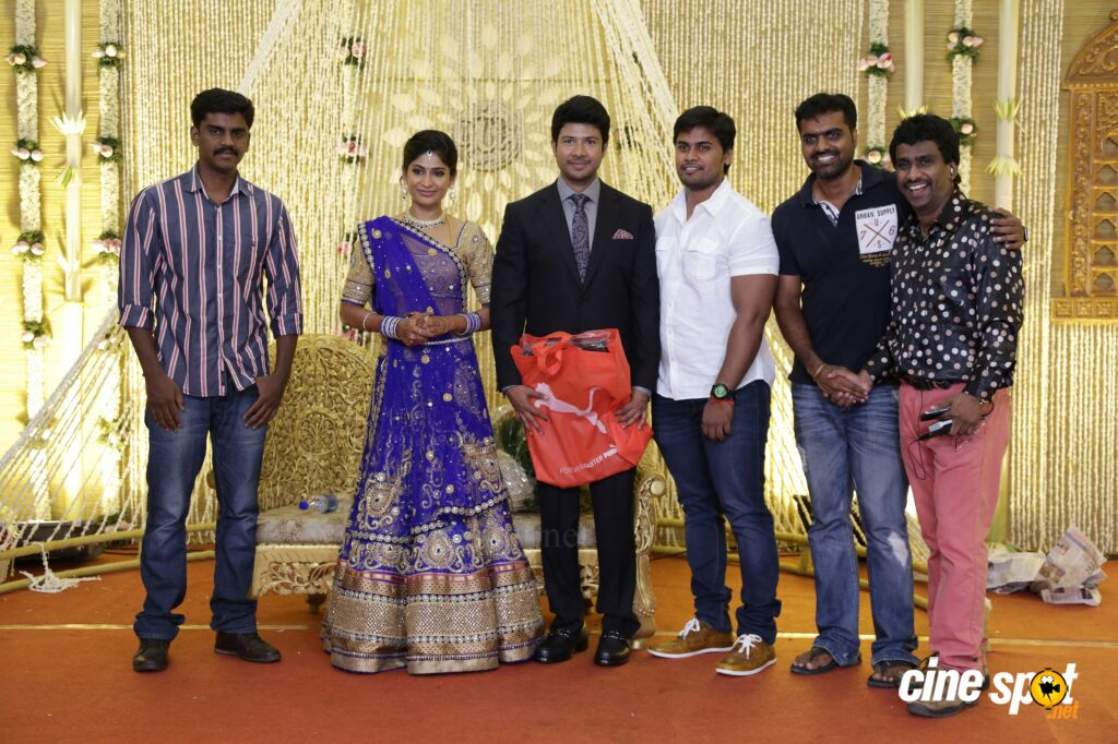 Actress Vijayalakshmi -Feroz Wedding Reception  (34)
