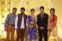 Actress Vijayalakshmi -Feroz Wedding Reception  (38)
