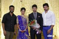 Actress Vijayalakshmi -Feroz Wedding Reception  (4)