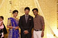 Actress Vijayalakshmi -Feroz Wedding Reception  (41)