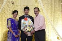 Actress Vijayalakshmi -Feroz Wedding Reception  (43)