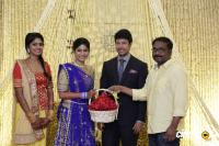 Actress Vijayalakshmi -Feroz Wedding Reception  (47)