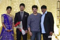 Actress Vijayalakshmi -Feroz Wedding Reception  (48)