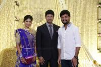 Actress Vijayalakshmi -Feroz Wedding Reception  (8)
