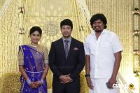 Actress Vijayalakshmi -Feroz Wedding Reception  (9)
