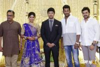 Actress Vijayalakshmi marriage reception pics (1)