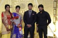Actress Vijayalakshmi marriage reception pics (2)