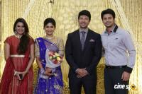 Actress Vijayalakshmi marriage reception pics (3)