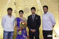 Actress Vijayalakshmi marriage reception pics (7)