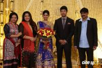 Actress Vijayalakshmi wedding reception pics (1)