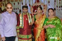 Vijaya Nirmala's Niece Sri Divya And Sai Nikhilesh Marriage Photos