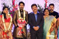 Prajwal Devaraj Marriage Reception Photos