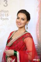 Sana Khan at Page 3 Lifestyle Exhibition Launch (33)