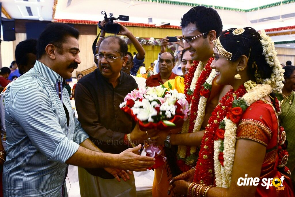 Producer Srikanth Son Wedding (1)