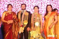 Jayaprada's son Actor Siddharth's Wedding Reception Photos