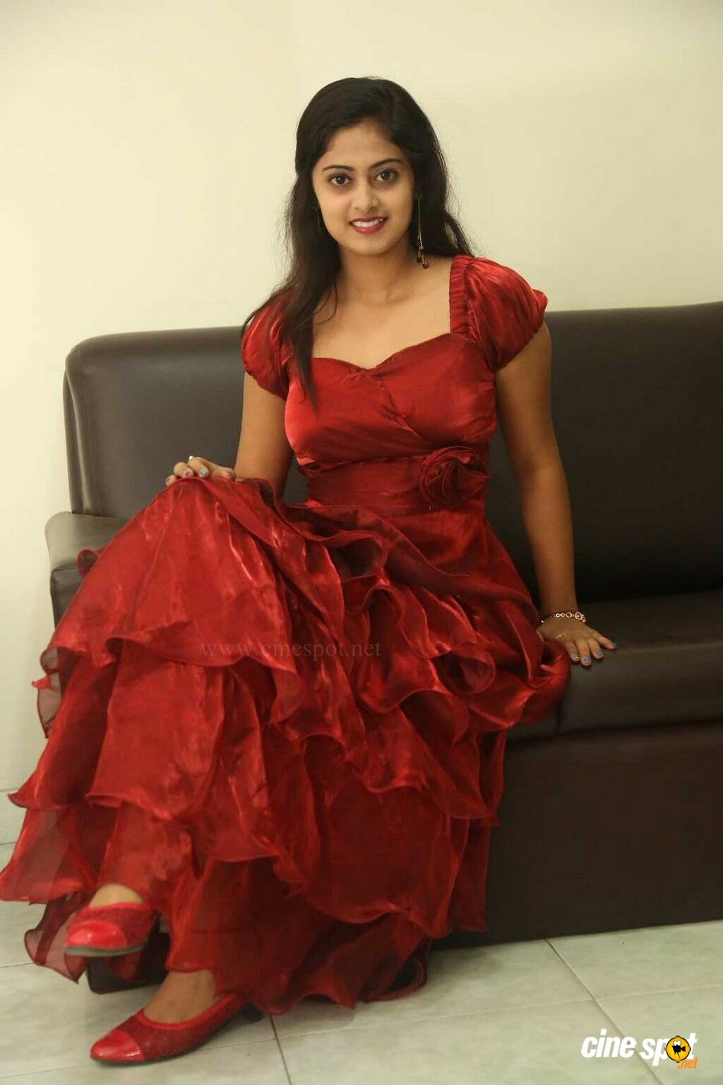 Meghasri at Anaganaga Oka Chitram Press Meet (28)