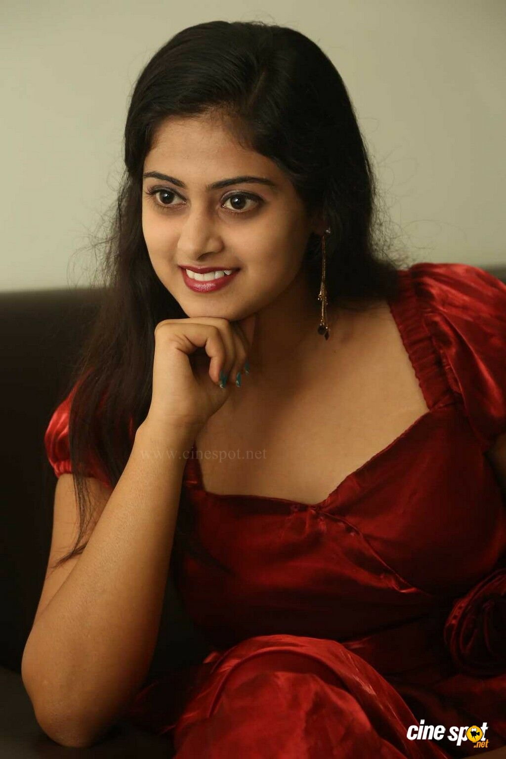 Meghasri at Anaganaga Oka Chitram Press Meet (45)
