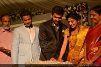 Sshivada Nair - Murali Krishnan Marriage Reception Photos