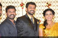 Sshivada Nair -Murali Krishnan Reception photos (11)