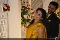 Sshivada Nair -Murali Krishnan Reception photos (38)