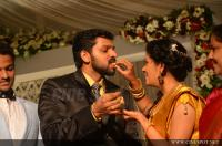 Sshivada Nair -Murali Krishnan Reception photos (4)