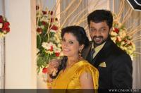 Sshivada Nair -Murali Krishnan Reception photos (40)