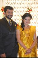 Sshivada Nair -Murali Krishnan Reception photos (5)