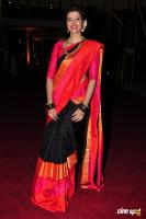 Hamsa Nandini at Pearl V Potluri Half Saree Function (8)