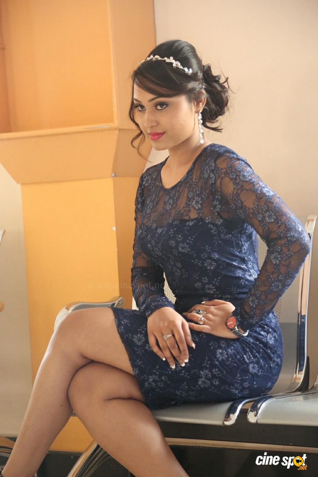 Vennela at Veeri Veeri Gummadi Pandu Press Meet (30)