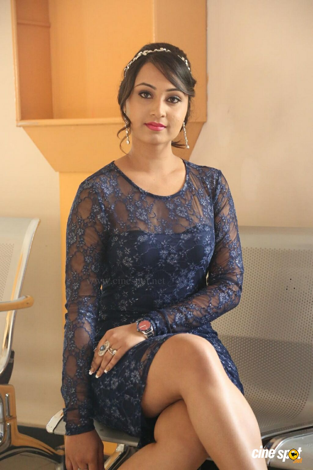 Vennela at Veeri Veeri Gummadi Pandu Press Meet (33)
