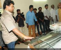 Film stars at Director Rajesh Pillai Funeral Photos (18)