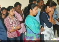 Film stars at Director Rajesh Pillai Funeral Photos (29)