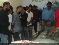 Film stars at Director Rajesh Pillai Funeral Photos (31)